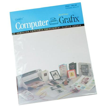 Grafix Inkjet Film, 8.5