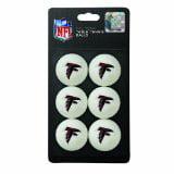 Franklin NFL Atlanta Falcons 6-Pack Table Tennis B