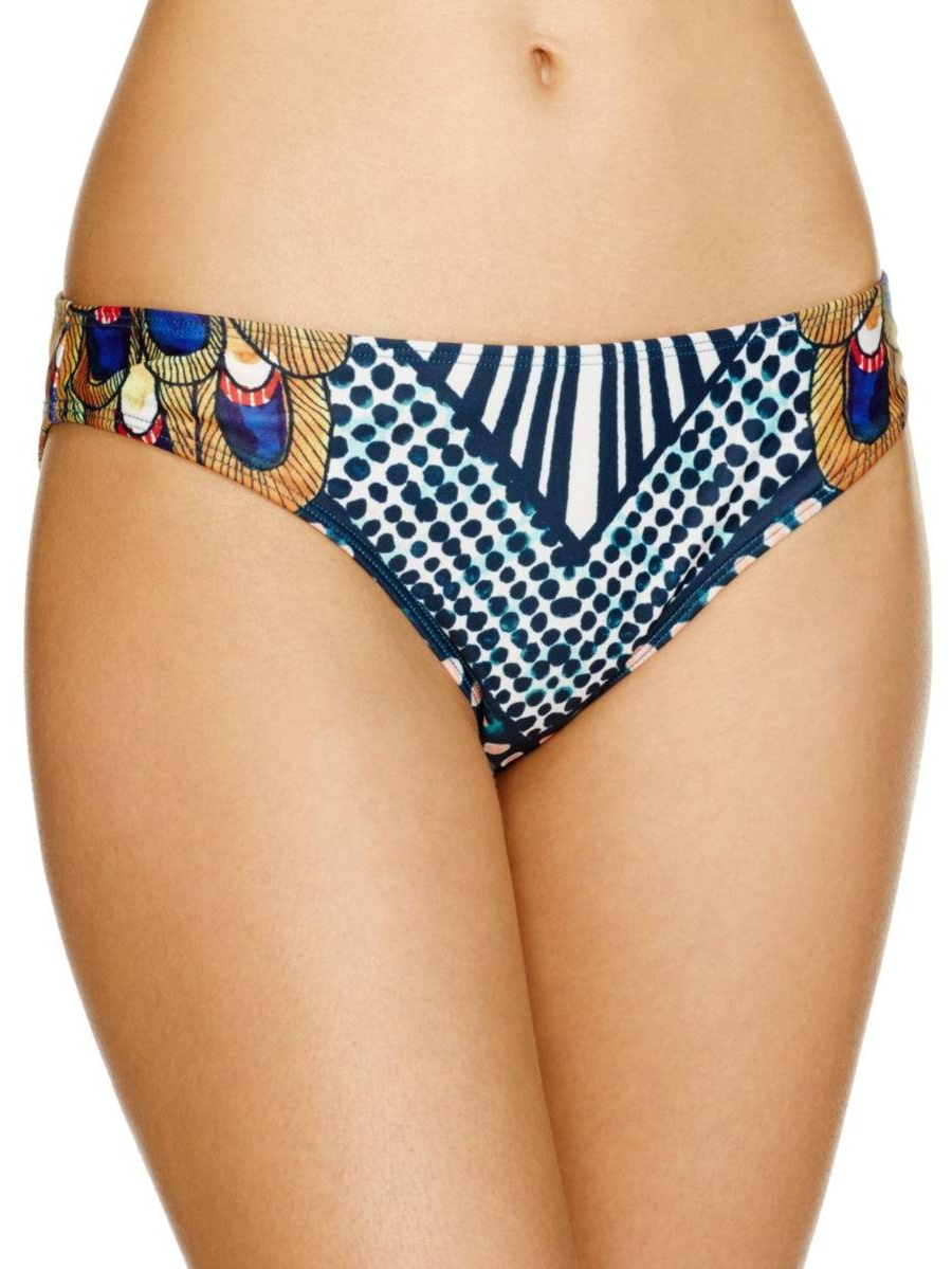 Mara Hoffman Womens Printed Bikini Swim Bottom Separates