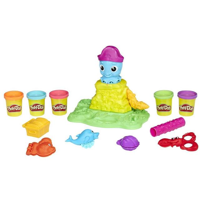 Hasbro HSBE0800 Play-Doh Cranky The Octopus - Set of 4