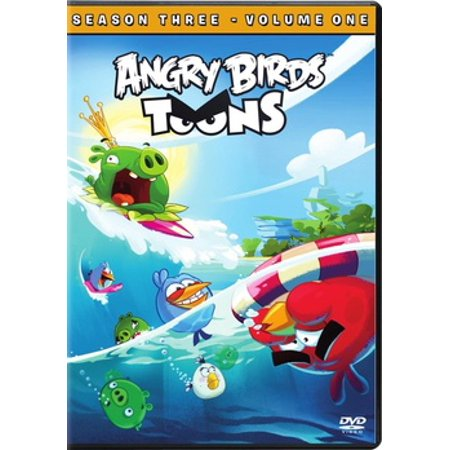 Angry Birds Toons: Season 3, Volume 1 (DVD) (Angry Birds Seasons Halloween 1-8)