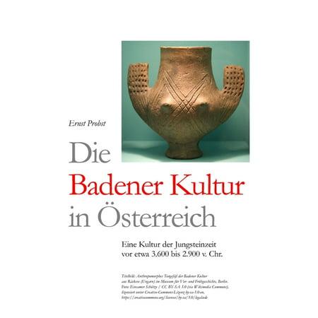Die Badener Kultur in Österreich : Eine Kultur der Jungsteinzeit vor etwa 3.600 bis 2.900 v. Chr. (Paperback)