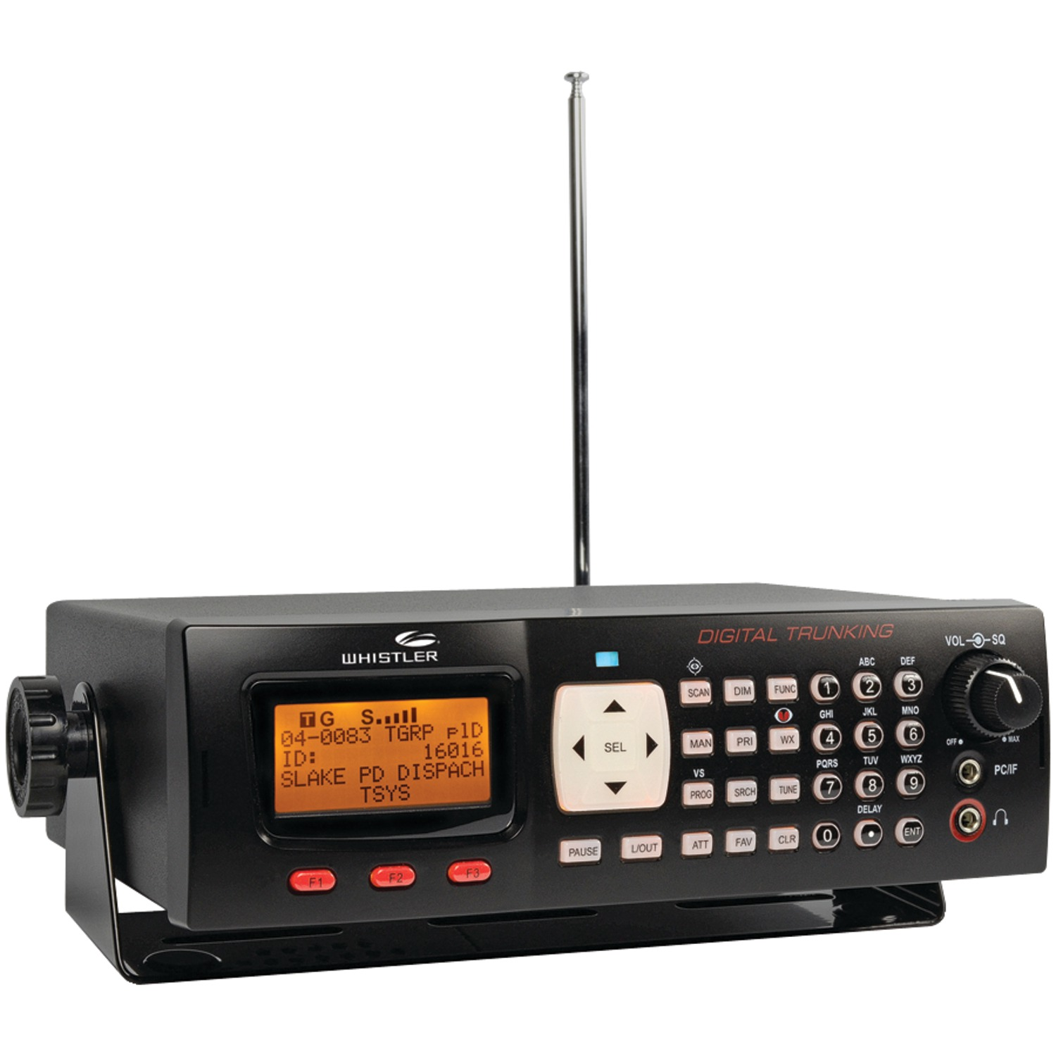 Whistler WS1065 Digital Desktop Mobile Radio Scanner by Whistler