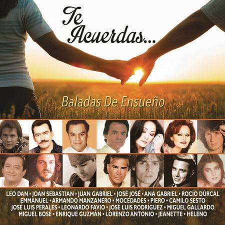 Te Acuerdas  Baladas De Ensueno  Various Artists