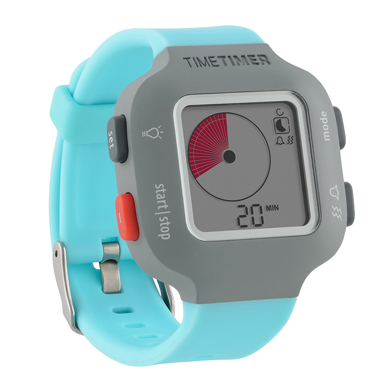 Time Timer Watch Plus Sm Sky Blue - image 1 of 1