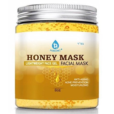 Pursonic 8 oz Lightweight Face Gel Moisturizing Honey Facial