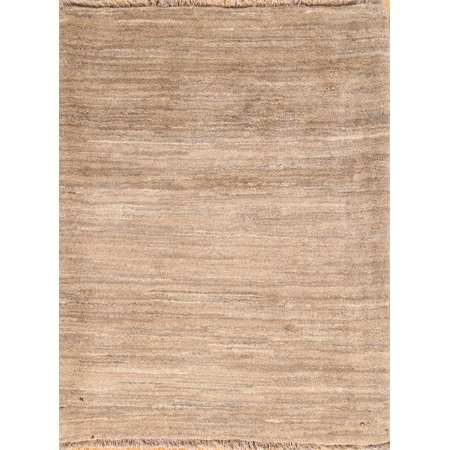 RugSelect 3x4 Gabbeh Modern Oriental Hand-Knotted Contemporary Area (Gabbeh Oriental Area Rugs)