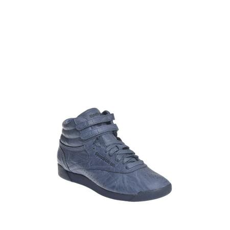 9e3820e1ca5 Reebok - Reebok Freestyle Hi FBT Sneaker - Smoky Indigo - Walmart.com