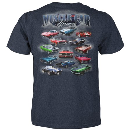 Chevelle Muscle Car T-shirt (Muscle Car Heaven Adult T-Shirt )