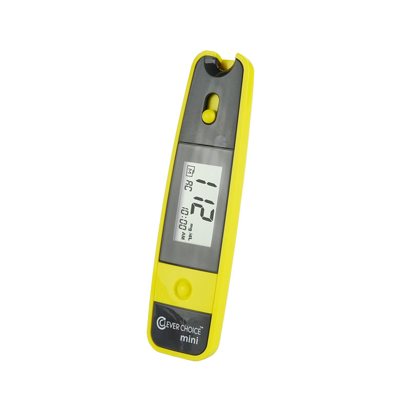 Clever Choice Mini Blood Glucose Meter - Yellow