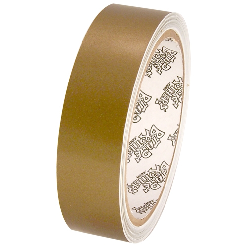"""Tape Planet 3 mil 1"""" x 10 yard Roll Gold Outdoor Vinyl Tape"""