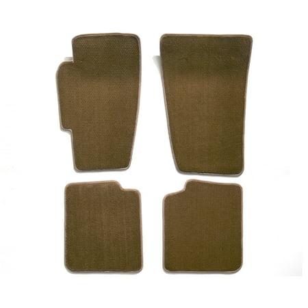 Mini Cooper Covercraft Block - Premier Plush Custom Floor Mats: Fits 2007-14 MINI COOPER HARDTOP, S, JOHN COOPER WORKS 4PC SET (Beige) (4PC Set) (762407-23)