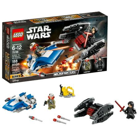 Logo Tie (LEGO Star Wars TM A-Wing vs. TIE Silencer Microfighters 75196 )