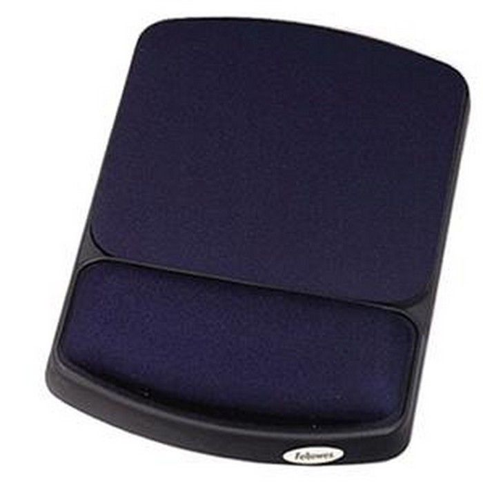 Fellowes FEL98741 Mouse Rest with Wrist Rest Non-skid Sap...