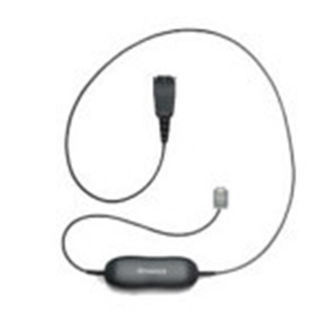 GN Netcom 88001-96 1210 Smart Headset Cord - Carbon Phones - image 1 de 1