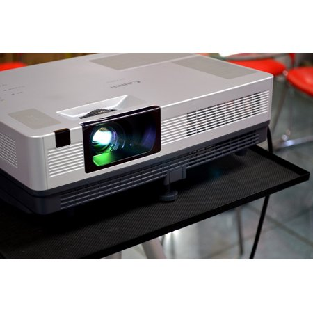 Canvas Print Computer Projector Business Projector Objects Stretched Canvas 10 x 14