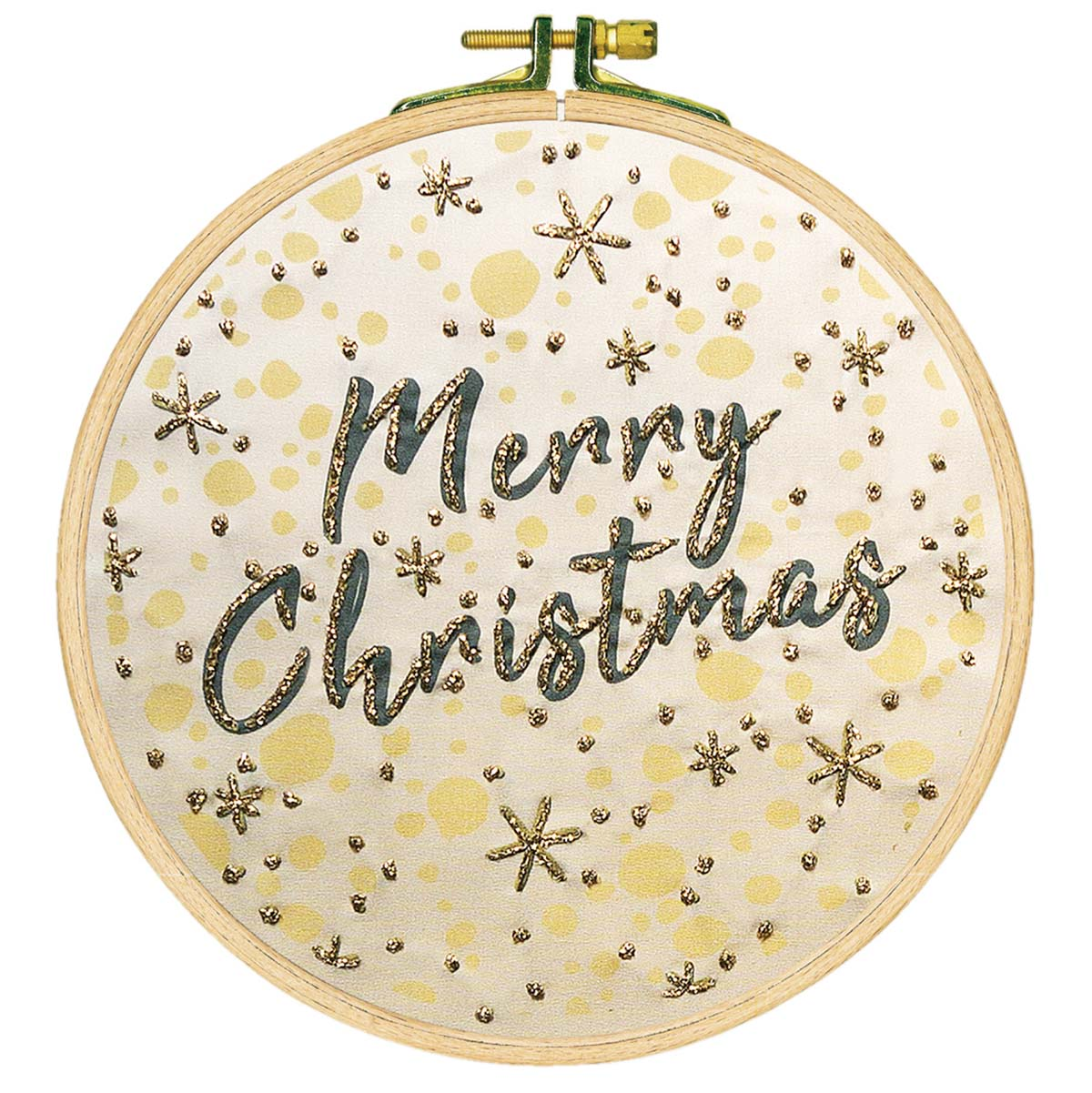 Herrschners® Merry Christmas Picture Stamped Embroidery Kit
