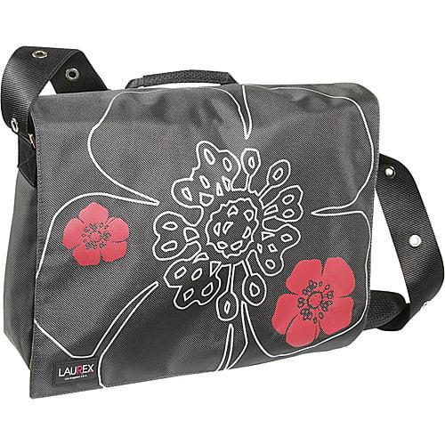 "15.4""/15.6"" Laptop Messenger Bag in Steal Petal"