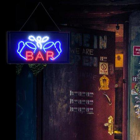 Ejoyous Super Bright Led Bar Sign Board Pub Club Display Light Lamp for Shop Fronts/Windows,  LED billboards , Pub Led Display - image 6 de 7