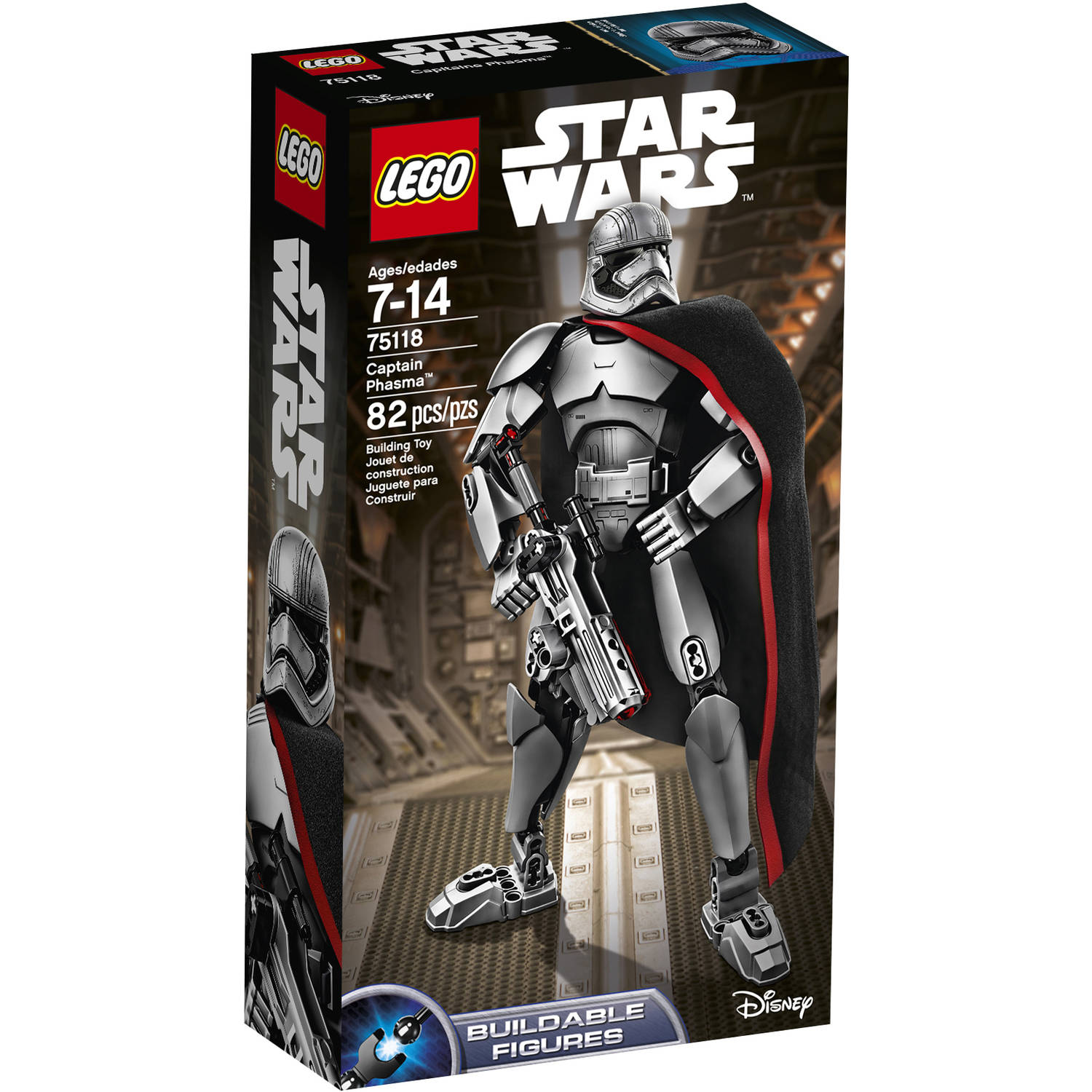 "LEGO Constraction Star Wars Captain Phasma""75118"
