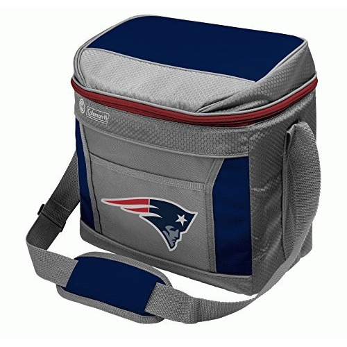 NFL New England Patriots 16 Can Soft-Sided Cooler with Ice, Blue