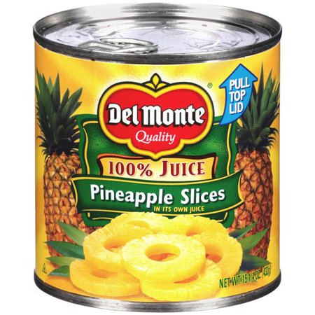 Rothschild Pineapple - (3 Pack) Del Monte Sliced Pineapple, 15 oz