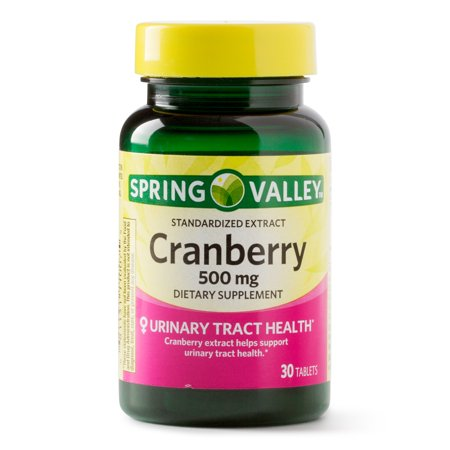 (2 Pack) Spring Valley Cranberry Extract Tablets, 500 mg, 30