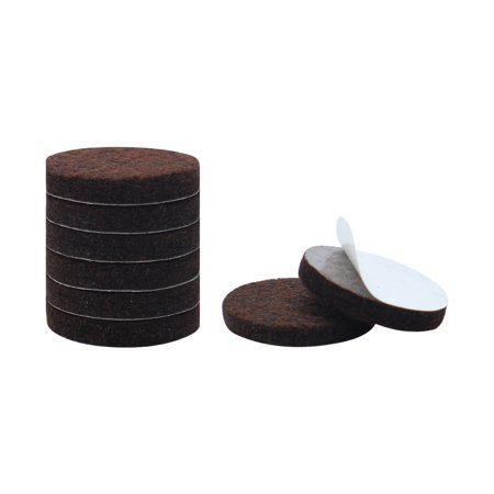 8pcs Felt Furniture Pads Round 1 2 Floor Protector For Table Chair Leg