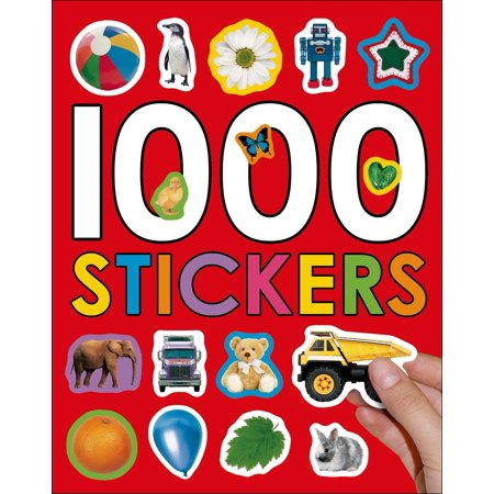 Little Children Shape Stickers (1000 Stickers )