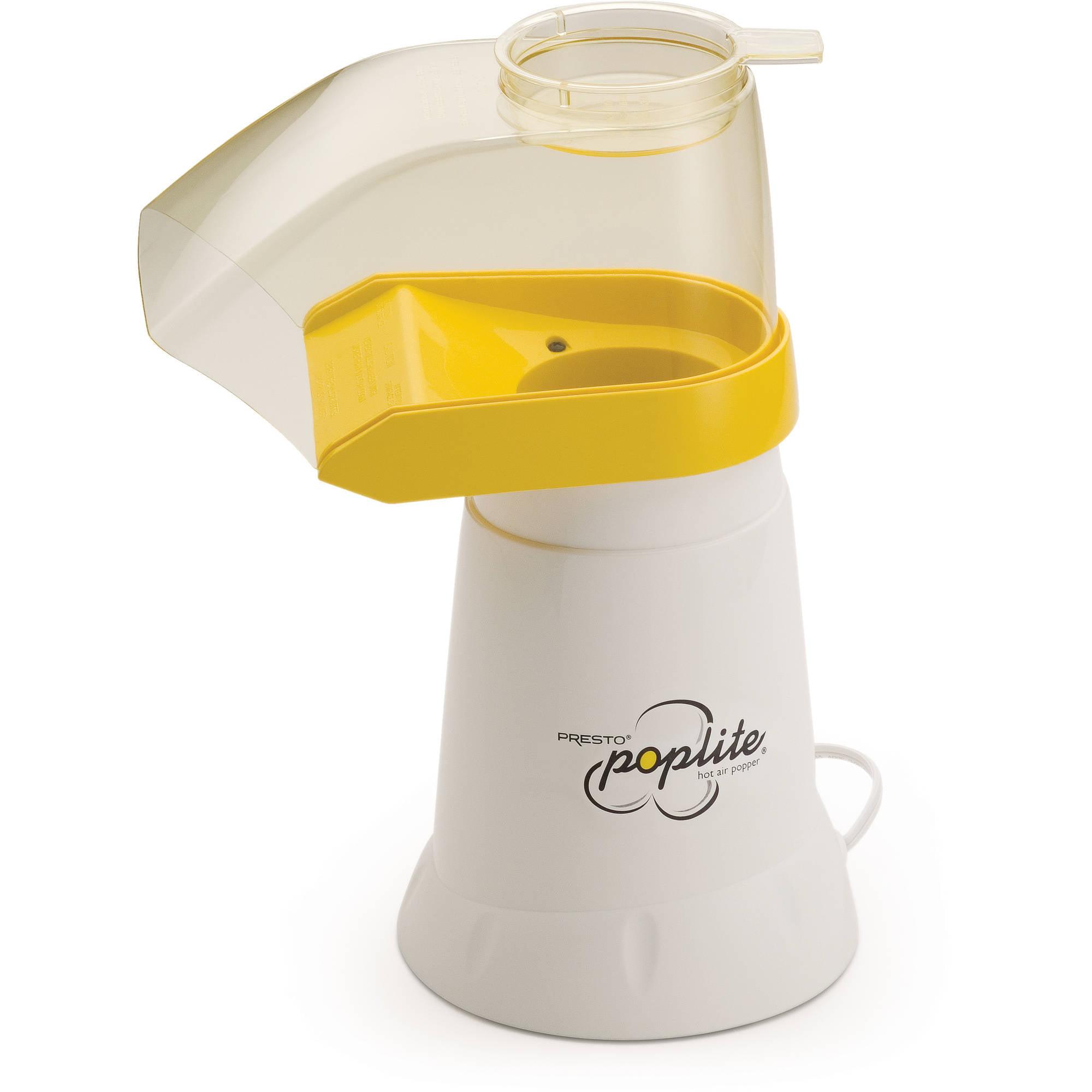 Presto 04820 Poplite Hot Air Popcorn Popper Maker New Kitchen Pop Corn