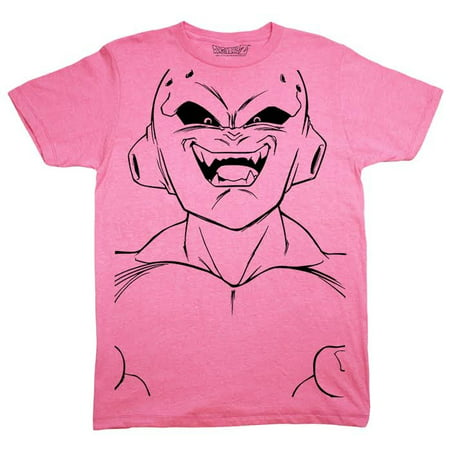 Dragonball Z DBZ Majin Buu Kid Buu Large Face Anime Licensed Adult Shirt S-2XL - Anime Boys And Girls