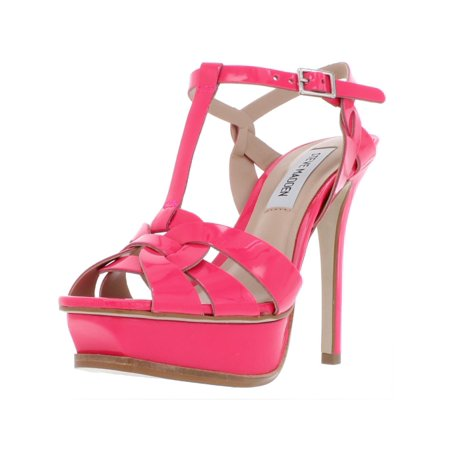 - Steve Madden Womens Kismit Patent Leather Stiletto Platform Heels