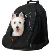 Petego PETW BL Pet At Work Pet Carrier with Pet Dome Crate, Black