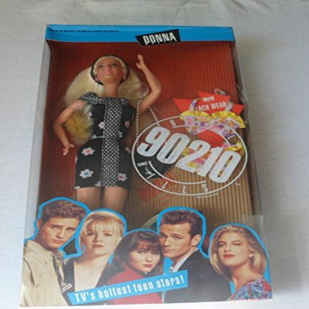 Tori Spelling Necklace - Barbie Beverly Hills 90210 DONNA MARTIN Doll - Tori Spelling (1991)