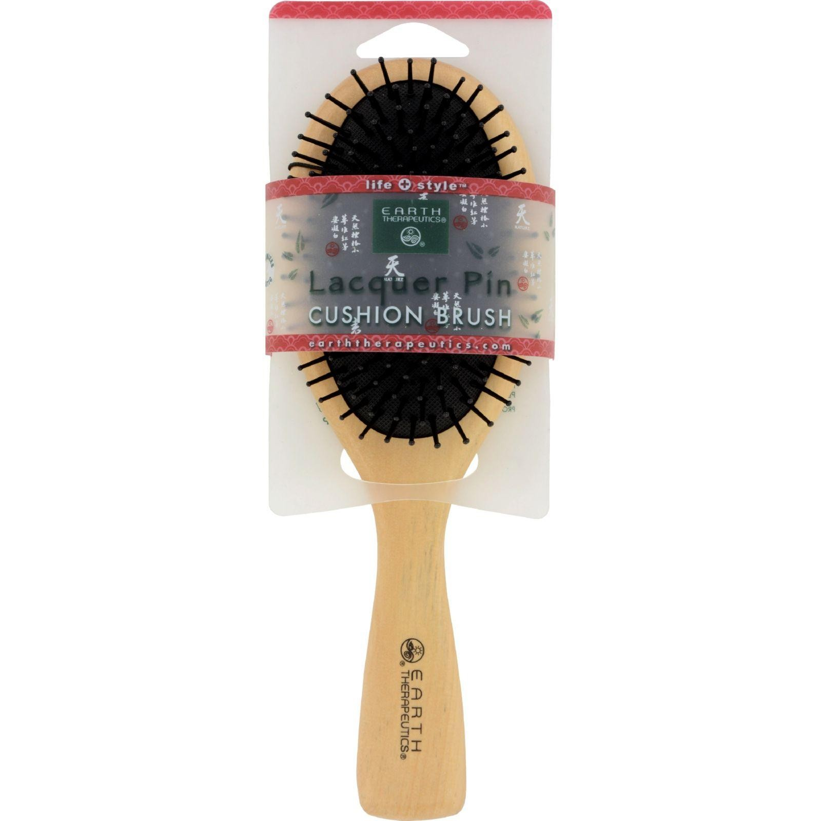 Earth Therapeutics Lacquer Pin Cushion Brush - Large - 1 Piece