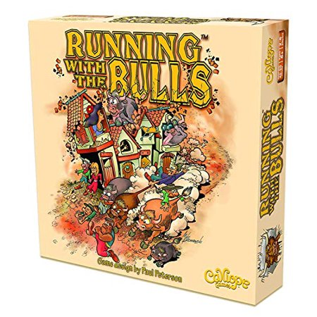 Calliope Games Running The Bulls Board Game - image 1 of 4