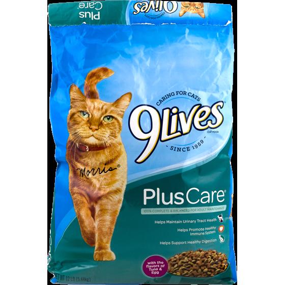 Nine Lives Dry Cat Food Reviews Food