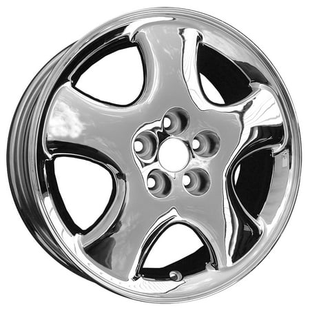 2001-2002 Chrysler PT Cruiser  16x6 Aluminum Alloy Wheel, Rim Chrome Plated - 2140