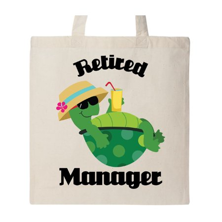 - Retired Manager turtle Tote Bag