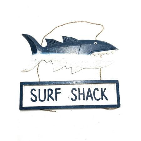 Surf Shack Shark Attack Sign 15