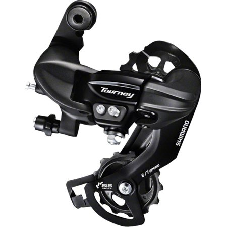 Shimano Tourney TY300 6/7-Speed Long Cage Rear Derailleur Direct-Attach
