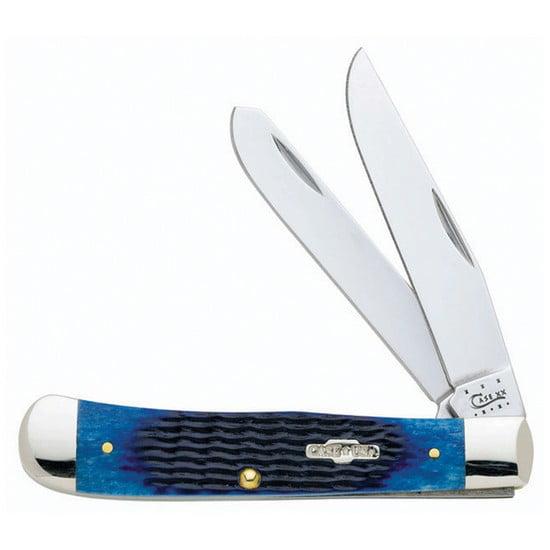 BLUE BONE 2BLD CASE KNIFE