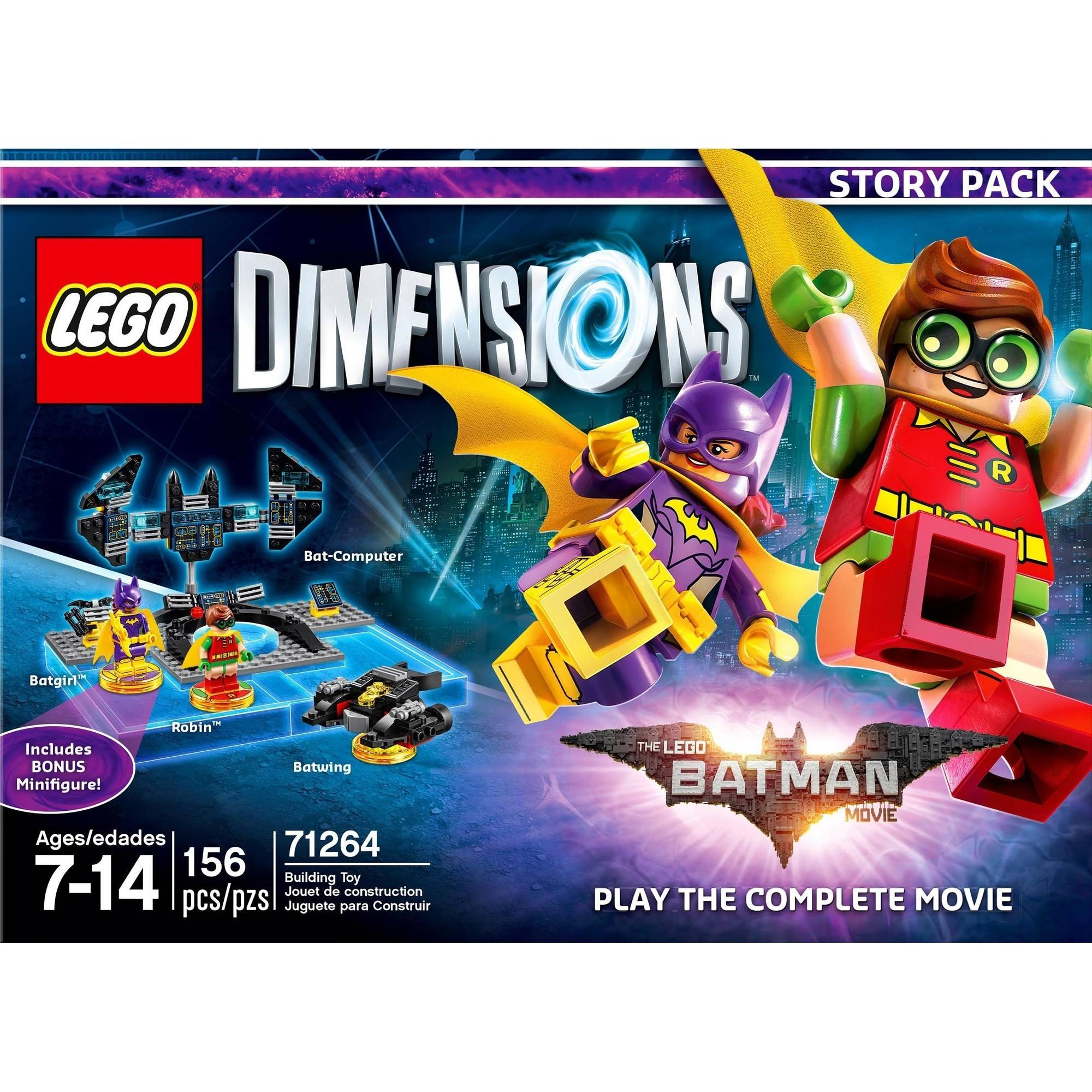 Lego Dimensions: Story Pack The Lego Batman Movie by WARNER HOME VIDEO GAMES