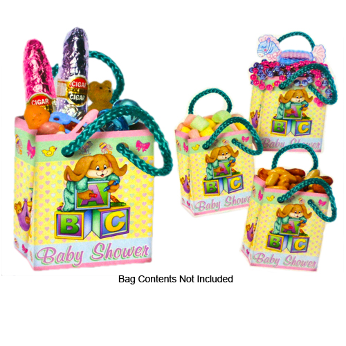 Cuddle-Time Mini Gift Bag Party Favors (Pack of 12)