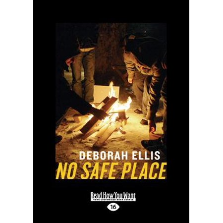 No Safe Place (Large Print 16pt)