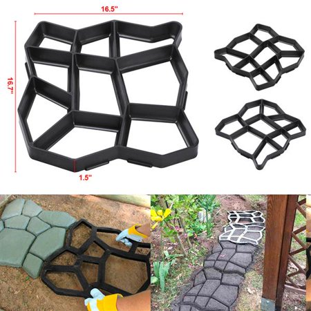 Plastic Pathmate Walk Way Paver Concrete Stone Mould Paving Mold