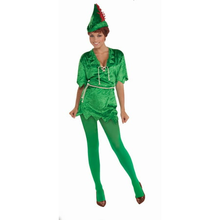 Halloween Peter Pan Adult - Peter Pan Plus Size Costume