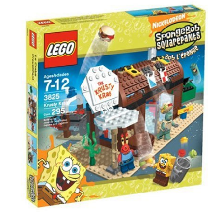 Lego Spongebob Squarepants Krusty Krab Play Set Walmartcom