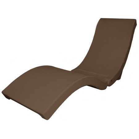 swimways sonoma chaise lounge chocolate. Black Bedroom Furniture Sets. Home Design Ideas