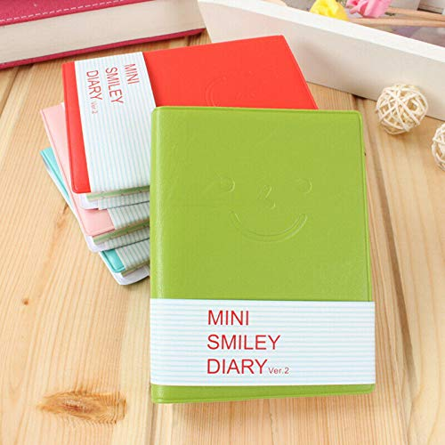 Cute Charming Portable Mini Smile Smiley Paper Note Book by leading-star